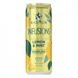 Radnor Hills | Infusions Lemon & Mint - 12 x 330ml