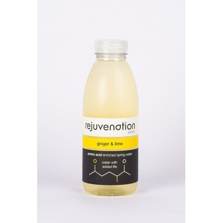 Rejuvenation Water Ginger & Lime - 12 x 500ml