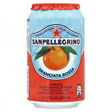 San Pellegrino Aranciata Ross Sparkling Blood Orange 24 x 330ml