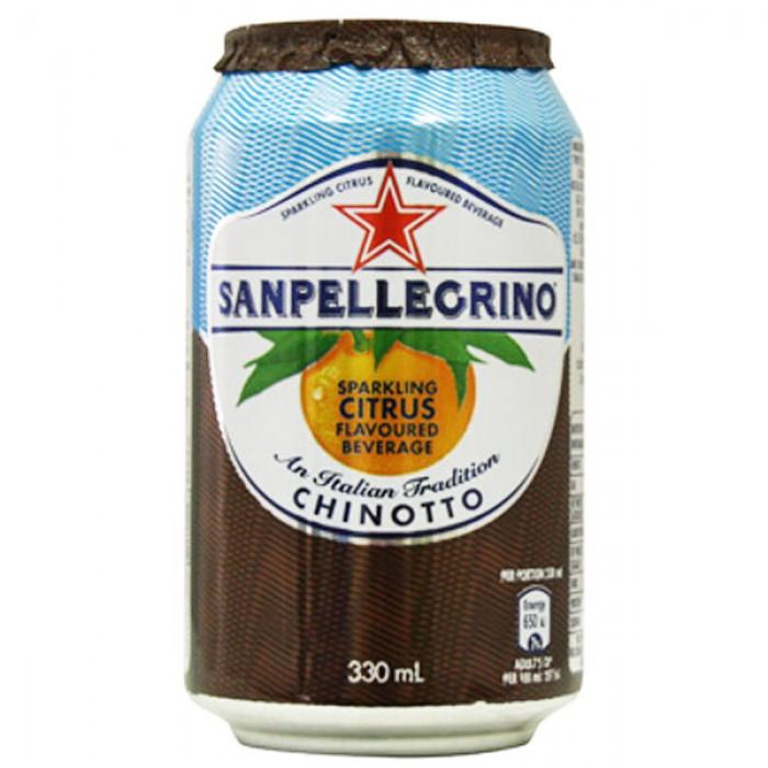 San pellegrino chinotto juice 24 x 330ml for Food bar manufacturers uk