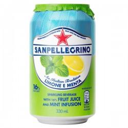 San Pellegrino Limone e Menta - Lemon & Mint 24 x 330ml