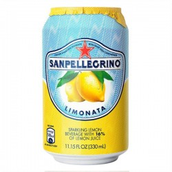San Pellegrino Limonata Sparkling Lemon Juice 24 x 330ml
