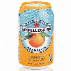San Pellegrino Aranciata Sparkling Orange Juice 24 x 330ml