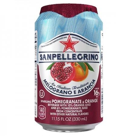 San Pellegrino Melograno e Arancia - Orange & Pomegranate 24 x 330ml