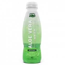 Simplee Aleo | Aloe Water With Pulp - 6 x 500ml