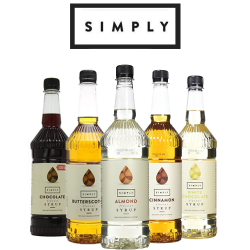 Simply Syrups - 15 flavours