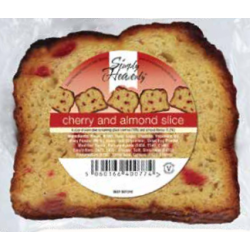Simply Heavenly Slice - Cherry & Almond x 18 Units