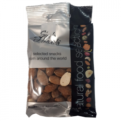 Simply Heavenly Nuts Roasted Almonds 12 x 50g