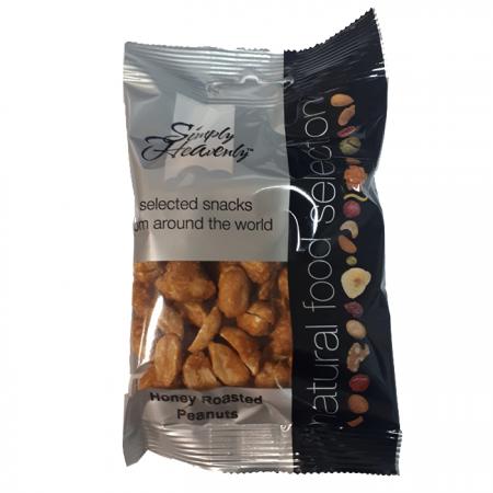 Simply Heavenly Nuts Honey Roasted Peanuts 12 x 40g
