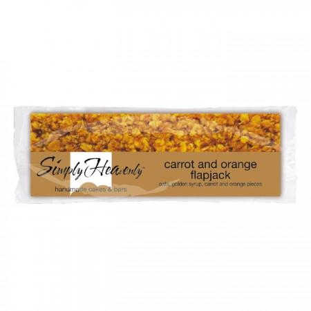 Simply Heavenly Premium Carrot & Orange Flapjack x 20
