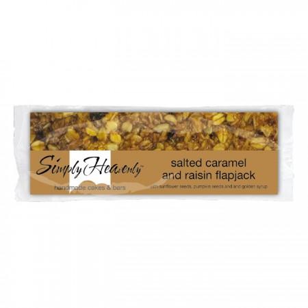Simply Heavenly Premium Salted Caramel & Raisin Flapjack x 20