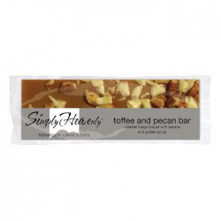 Simply Heavenly Toffee & Pecan Bar x 20