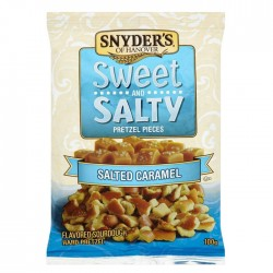Snyder's Sweet & Salty | Salted Caramel Pretzel Pieces (10 x 125g)