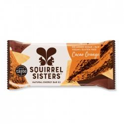 Squirrel Sisters Raw Energy Bar   Cocoa Orange 16 x 40g