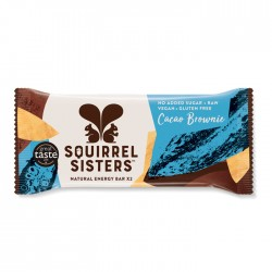 Squirrel Sisters Raw Energy Bar | Cacao Brownie 16 x 40g