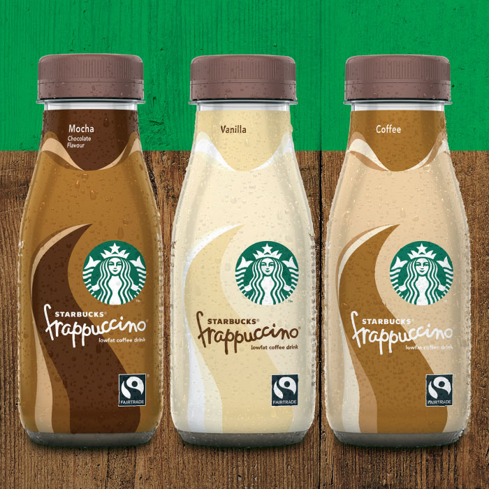 Starbucks Frappuccino Coffee Flavour Coffee Drink 8 X 250ml
