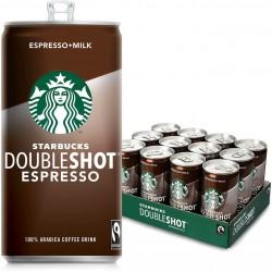 Starbucks Doubleshot Espresso Coffee Drink - Can - 12 x 200ml