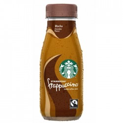 Starbucks Frappuccino Mocha Flavour Coffee Drink 8 x 250ml Glass