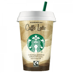 Starbucks Caffe latte Cups - 10 x 220ml