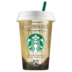 Starbucks Cappuccino Cups with Milk - 10 x 220ml