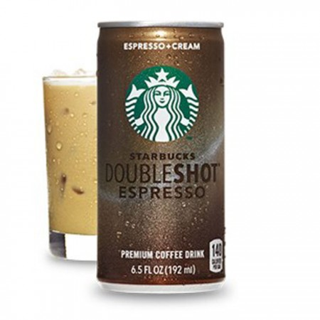 Starbucks Doubleshot Espresso Coffee Drink - Can - 12 x 200ml