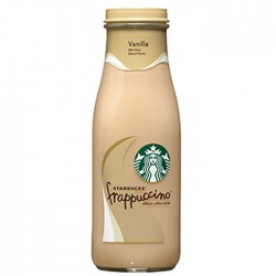 Starbucks Frappuccino Vanilla Flavour Coffee Drink 8 x 250ml