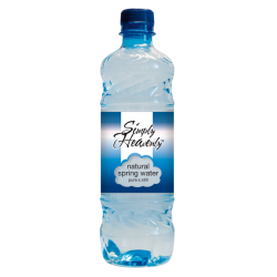 Simply Heavenly Pure Natural Spring Water Sportscap 24 x 500ml