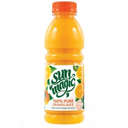Sunmagic |  100% Pure Orange Juice 12 x 500ml