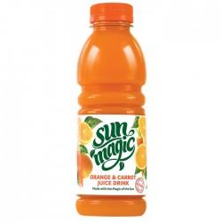 Sunmagic |  Orange & Carrot 12 x 500ml