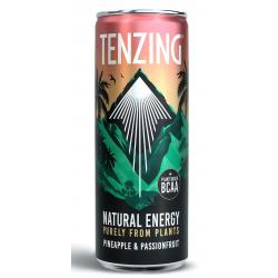 Tenzing Natural Energy - Pineapple & Passionfruit - 12 x 330ml