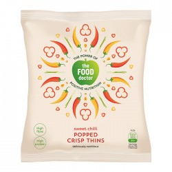 The Food Doctor | Sweet Chilly Crisp Thins - 10 x 23g