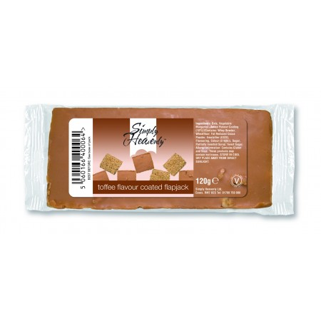 Simply Heavenly Flapjack Toffee Coated 30 x 120g