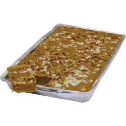 Simply Heavenly Toffee & Pecan Traybake 14 Slices