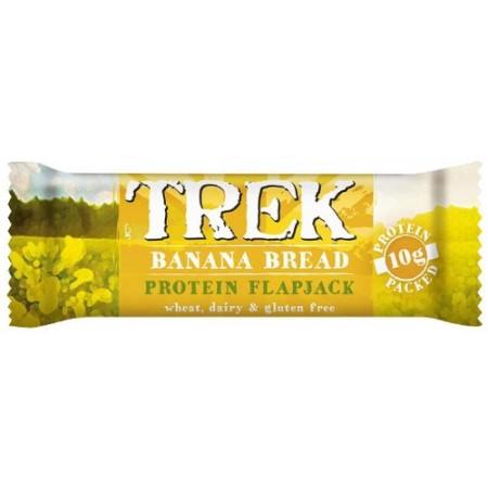 Trek Banana Bread Protein Flapjack 16 x 50g