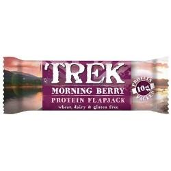 Trek Morning Berry Protein Flapjack 16 x 50g