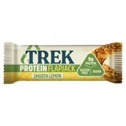 Trek Smooth Lemon Protein Flapjack - 16 x 50g