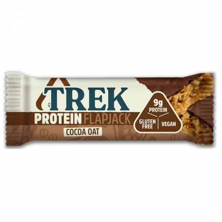 Trek Cocoa Oat Protein Flapjack 16 x 50g