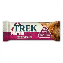 Trek Morning Berry Protein Flapjack 16 x 50g
