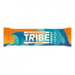 Tribe Blaze Trails Cacao & Orange Bar 16 x 48g