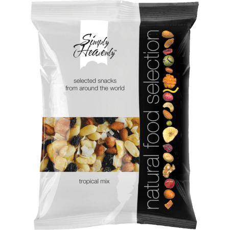Simply Heavenly Nuts Tropical Mix 12 x 40g
