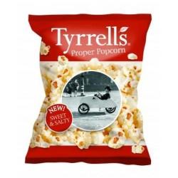 Tyrrells Sweet & Salt Popcorn 24 x 20g