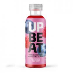 UpBeat Protein & Vitamin Water - Blueberry & Raspberry 12 x 500ml