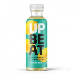 UpBeat Protein & Vitamin Water - Summer Lemon 12 x 500ml