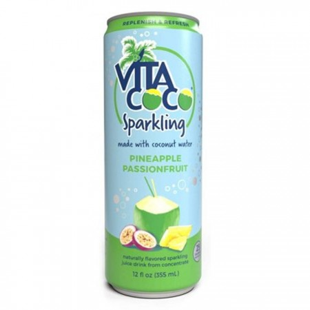 Vita Coco Sparkling Pineapple & Passionfruit 12 x 330ml