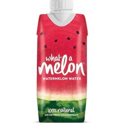 What A Melon -  100% Natural Watermelon Drink - 18 x 330ml