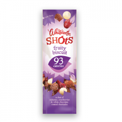 Whitworths - Fruity Biscuit Shot Packs - 16 x 25g