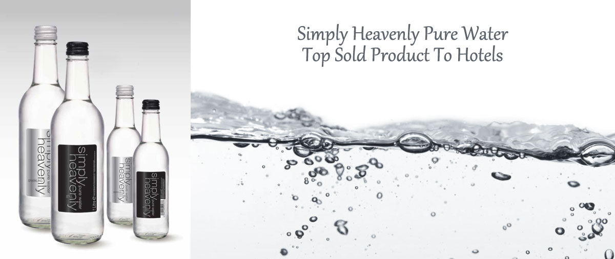 Simply Heavenly Foods - Pure Water Suppliers For Hotels in The UK