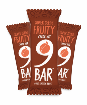 9 bar fruity 16 x 50g for Food bar manufacturers uk