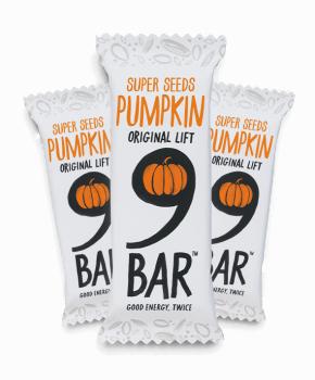 9 bar pumpkin 16 x 50g for Food bar manufacturers uk