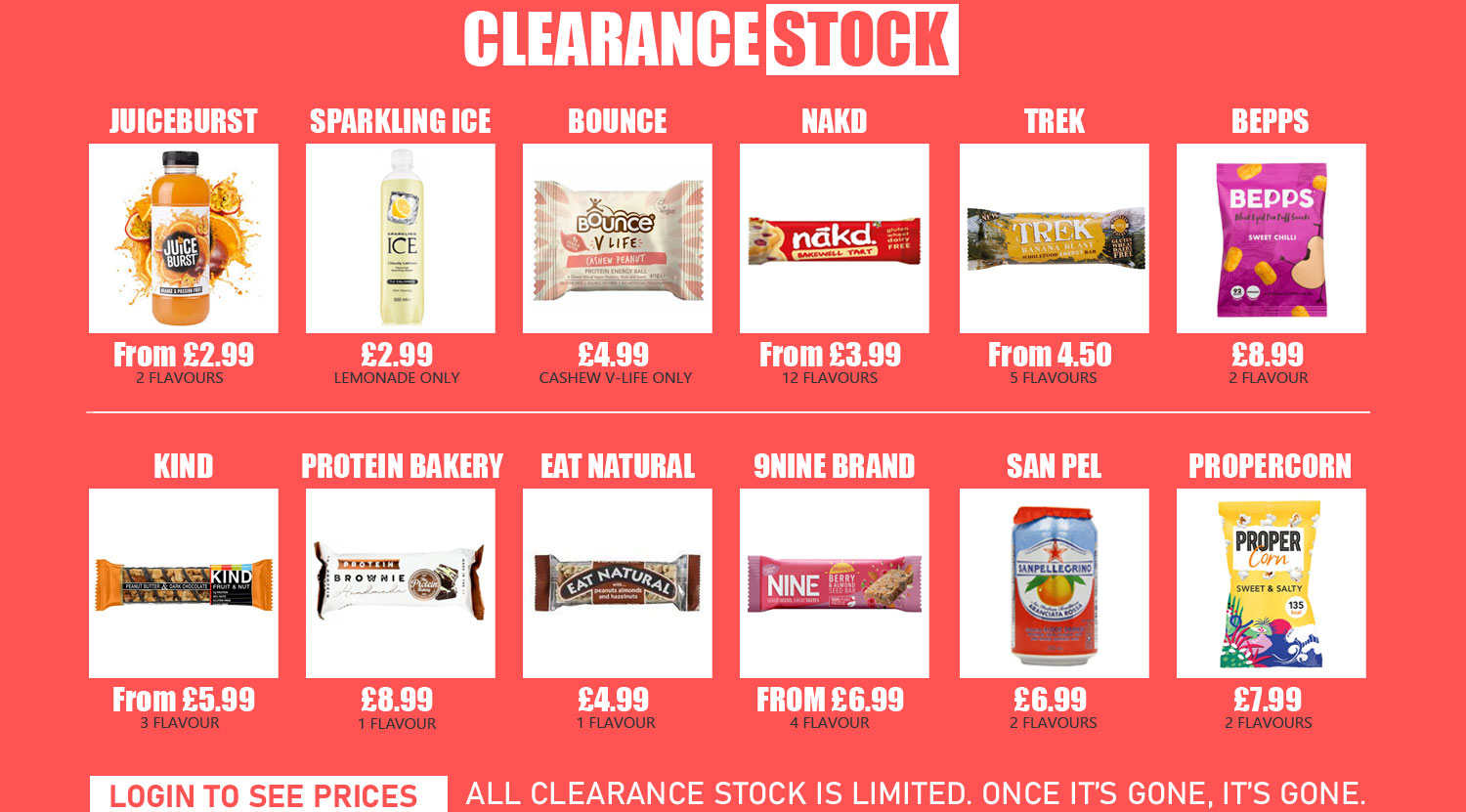 Click to view all clearance